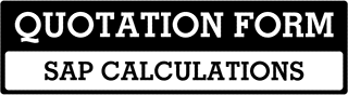 SAP Calculations Quote  For Fulbourne